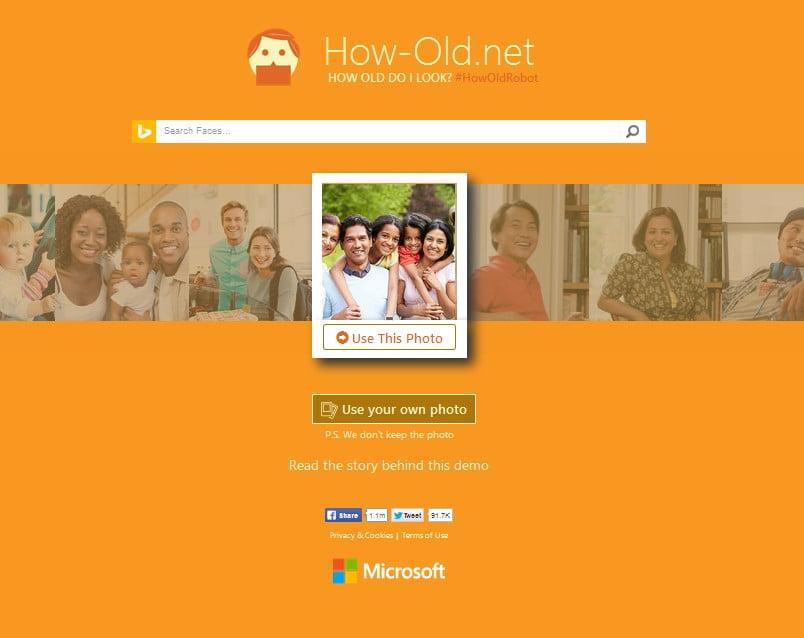 How-Old.Net, Aplikasi Populer