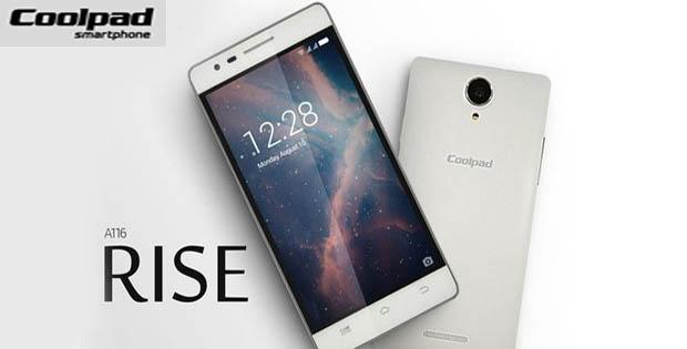 Coolpad Rise A116, Harga Coolpad Rise A116, Spesifikasi Coolpad Rise A116, Fitur Coolpad Rise A116