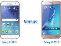 Samsung galaxy j5, samsung galaxy j5 (2015), samsung galaxy j5 (2016), perbedaan samsung galaxy j5 2015 dan galaxy j5 2016