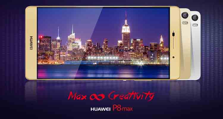 hp dengan baterai besar, smartphone dengan baterai besar, Huawei P8Max