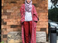 hijab casual ala zaskia, Zaskia Mecca, Tutorial Hijab Casual