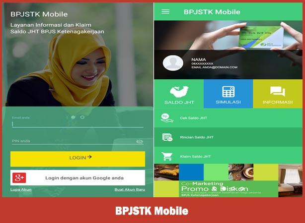 BPJSTK Mobile, cara cek saldo jamsostek bpjs ketenagakerjaan