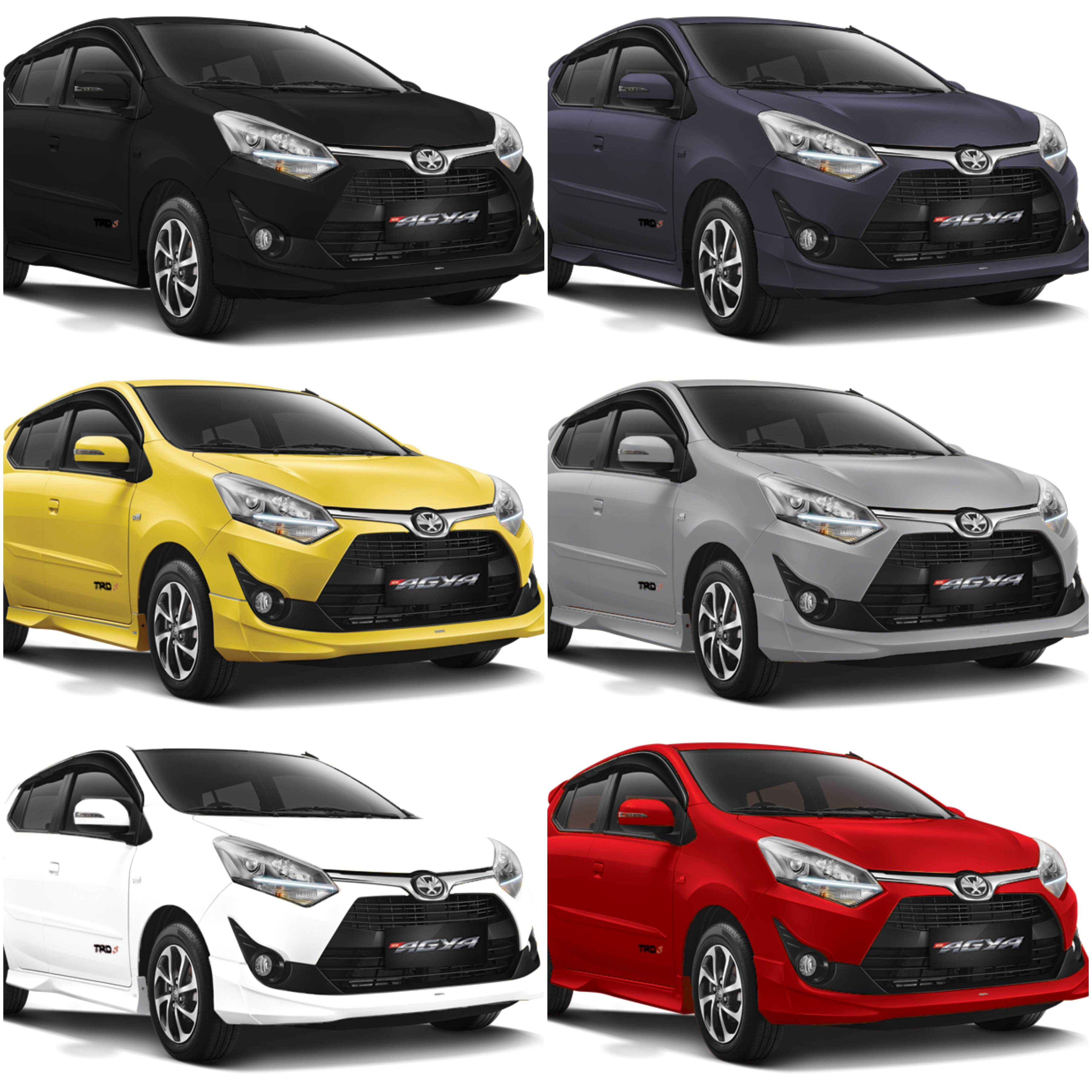 Warna Toyota New Agya