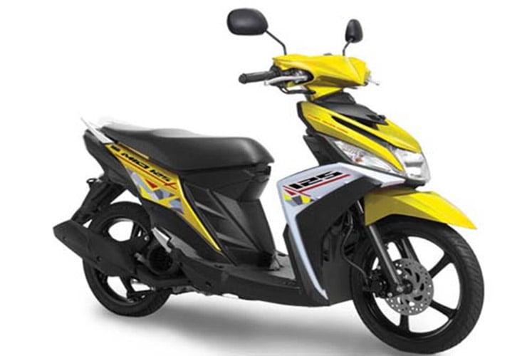 Yamaha Mio M3 125 Blue Core, Motor Yamaha Mio M3 125 Blue Core, Harga Yamaha Mio M3 125 Blue Core, Spesifikasi Yamaha Mio M3 125 Blue Core