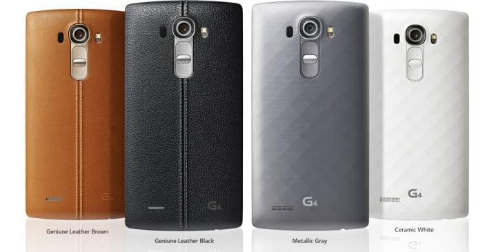 LG G4, Harga LG G4, Spesifikasi LG G4, Fitur LG G4, LG G4 Material Kulit