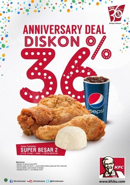 KFC Promo, KFC Diskon
