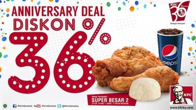 Promo KFC, KFC Promo, Diskon KFC