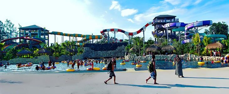 Jogja bay Pirates Adventure Waterpark, Wisata Jogja, Wisata Jogja bay Pirates Adventure Waterpark