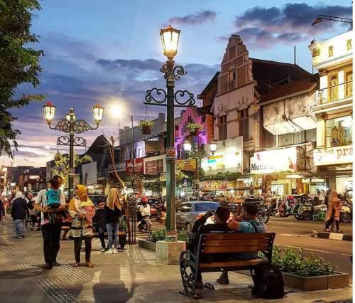 wisata jogja malam, Pedestrian Malioboro