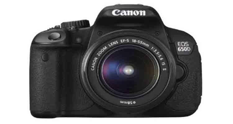 Kamera DSLR Canon EOS 650D, Canon EOS 650D