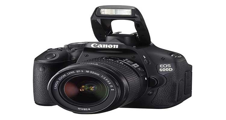 Kamera DSLR Canon EOS 600D, Canon EOS 600D