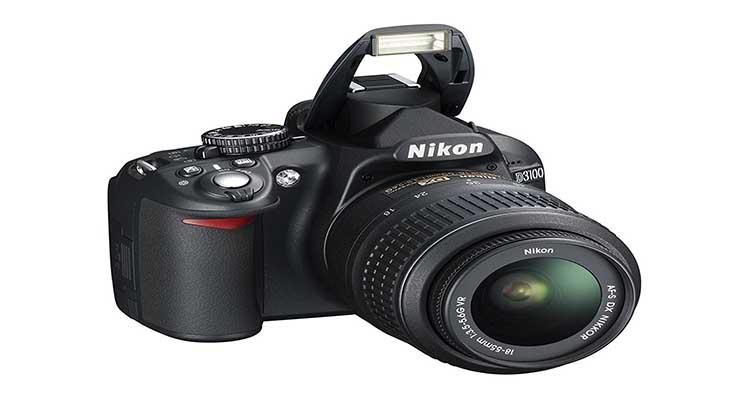 Kamera DSLR Nikon D3100, DSLR Nikon D3100,