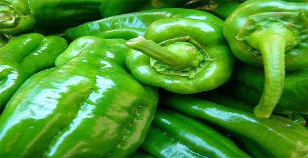 Makanan Baik Untuk Orang yang Patah Tulang, Paprika Hijau