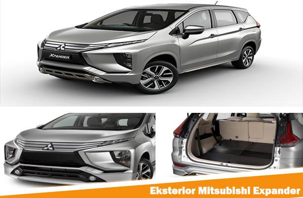 Eksterior Mitsubishi Expander, Eksterior Mitsubishi Xpander