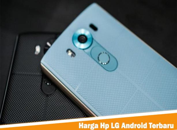 Harga Hp LG Android Terbaru