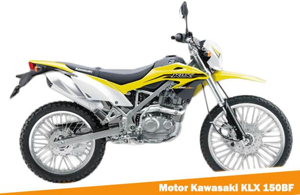 Motor Kawasaki KLX 150BF, Harga Motor Kawasaki KLX 150BF