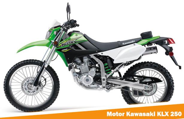 Motor Kawasaki KLX 250, Kawasaki KLX 250, Harga Motor Kawasaki KLX 250
