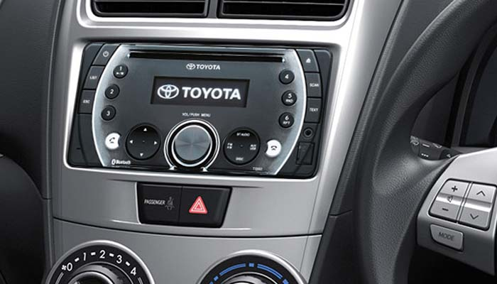 Audio Toyota Grand New Veloz