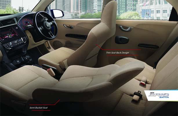 Dashboard Honda Brio
