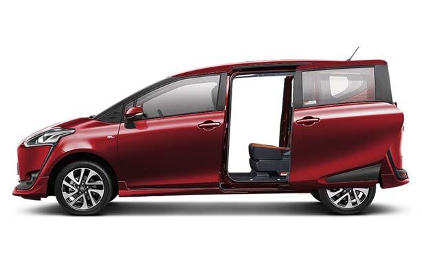 Desain Mobil Toyota All New Sienta