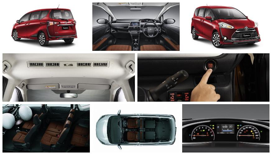 Eksterior dan Interior Toyota All New Sienta