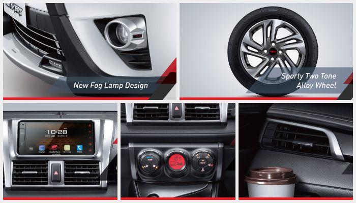 Eksterior dan Interior Toyota Yaris Heykers
