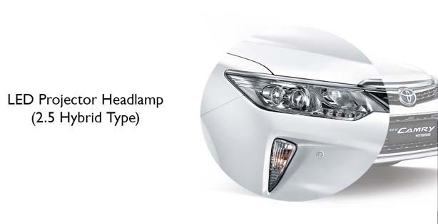 Mobil Toyota New Camry Hybrid