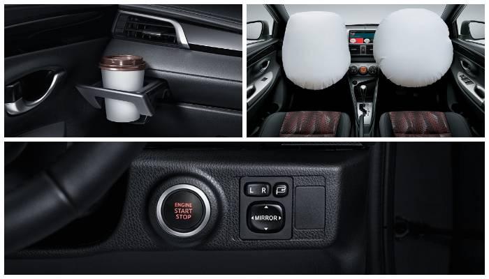 Fitur Tambahan Toyota New Yaris