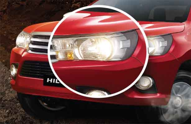 Lampu Toyota All New Hilux D Cab