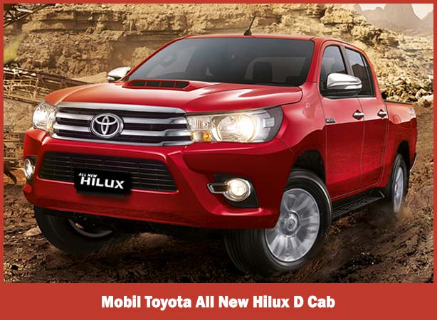 Mobil Toyota All New Hilux D Cab