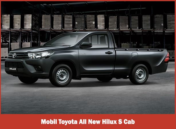 Mobil Toyota All New Hilux S Cab
