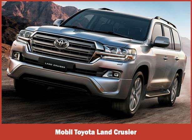 Mobil Toyota Land Crusier