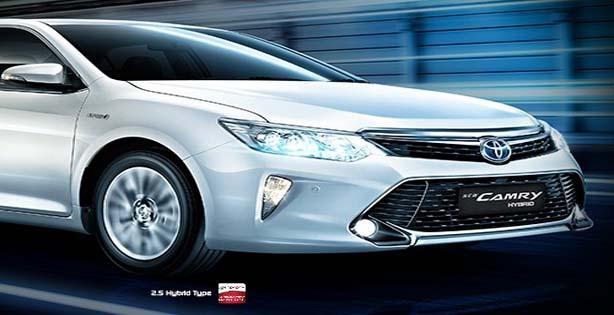 Mobil Toyota New Camry Hybrid, Toyota New Camry Hybrid