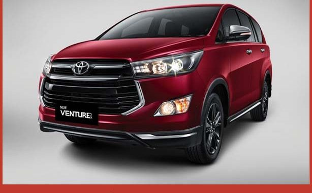 Toyota New Venturer, Harga Toyota New Venturer, Spesifikasi Toyota New Venturer, Warna Toyota New Venturer, Harga Terbaru Toyota New Venturer