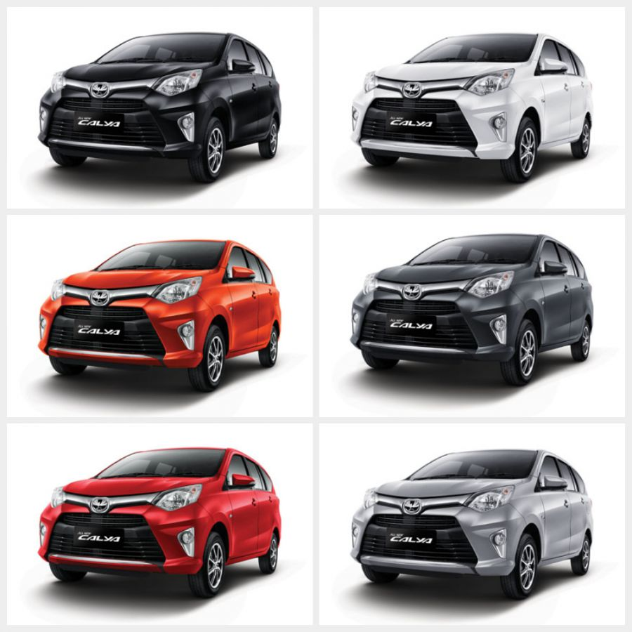 Warna Mobil Toyota All New Calya