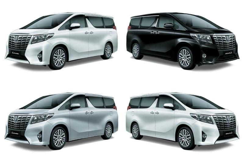Warna Mobil Toyota Alphard