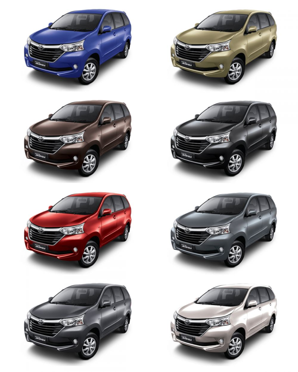 Warna Mobil Toyota Grand New Avanza