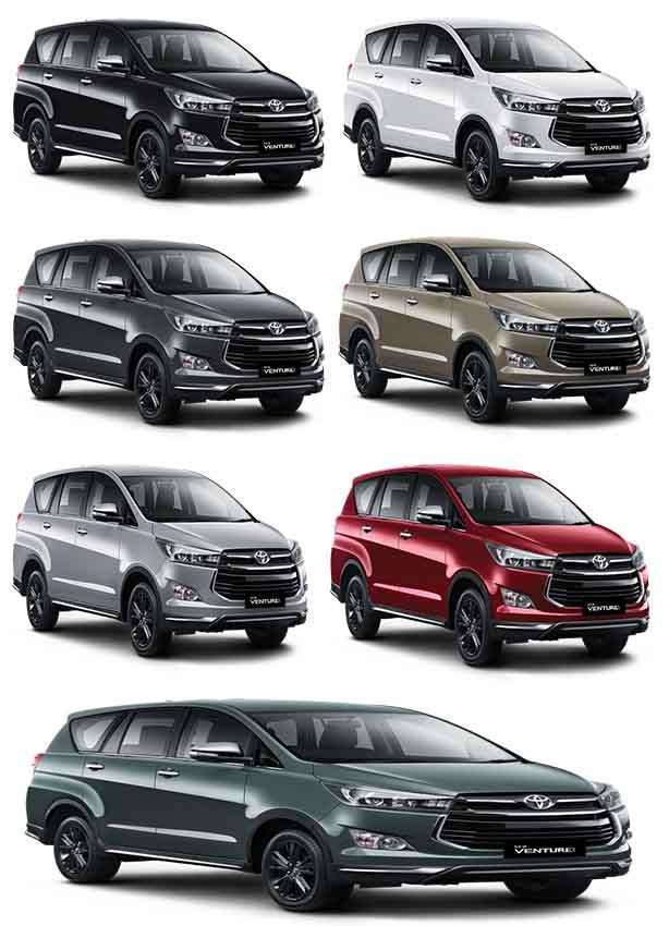 Warna Toyota New Venturer