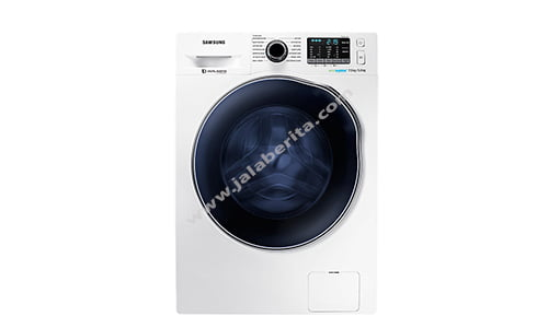 Mesin Cuci Samsung WD5000 Crystal Blue with Dryer