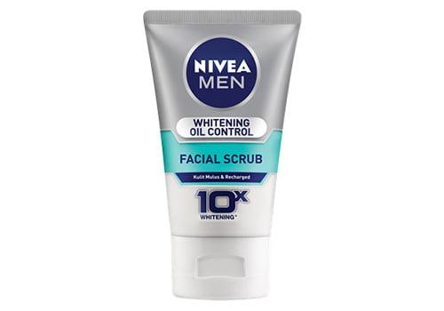 Nivea Facial Scrub For Men Whitening Oil Control