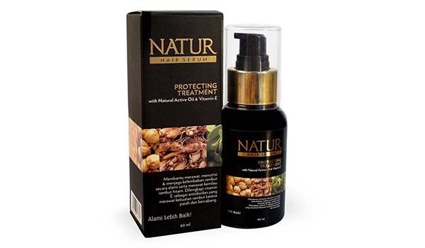 Serum Vitamin Rambut, Natur Hair Serum