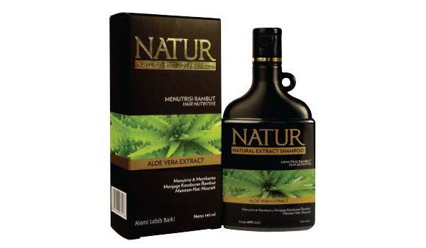 Shampoo Membuat Rambut Lebat dan Panjang, Natur Natural Extract Shampo Aloe Vera