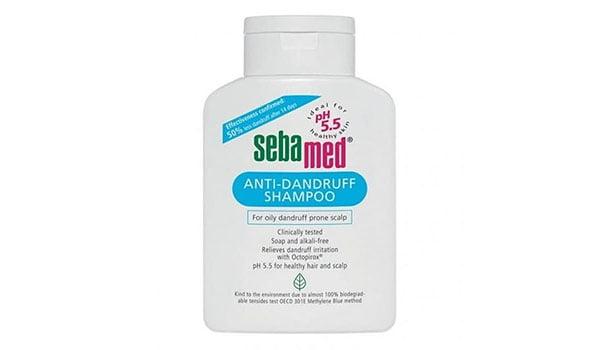 10 Merk Shampo Yang Bagus Untuk Rambut Rontok dan Ketombe, Sebamed Anti-Dandruff Shampoo