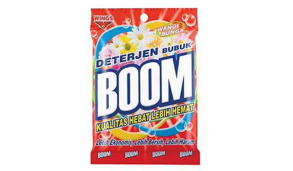 Merk Deterjen Yang Bagus Untuk Mesin Cuci, Boom Detergent Bubuk