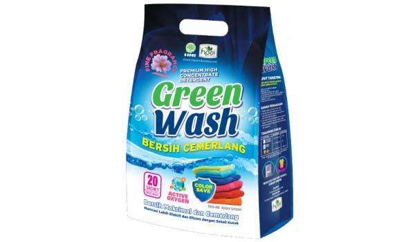 Merk Deterjen Yang Bagus Untuk Mesin Cuci, Green Wash Detergent