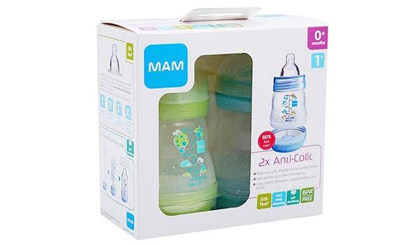 Botol Susu Terbaik untuk Bayi, MAM Care Anti-Colic Bottle