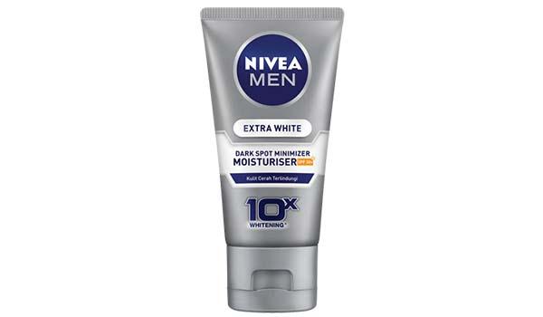 Merk Pelembab Wajah Pria yang Bagus, NIVEA MEN Extra White Dark Spot Minimizer Moisturiser