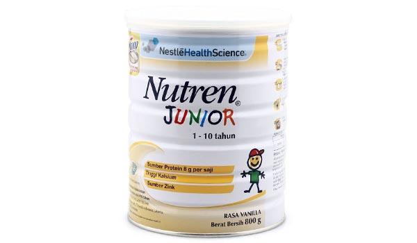 Susu Formula Bebas Laktosa Terbaik, daftar harga susu bebas laktosa, NUTREN Junior