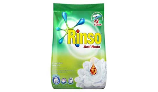 Merk Deterjen Yang Bagus Untuk Mesin Cuci, Rinso Anti Noda Deterjen Bubuk