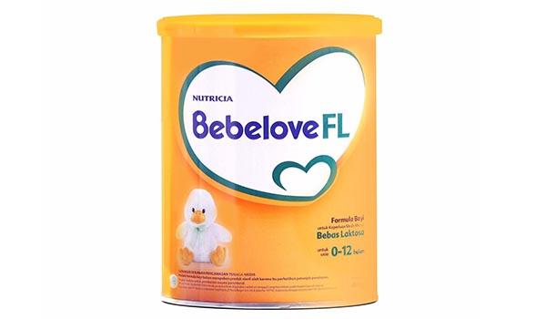 Susu Formula Bebas Laktosa Terbaik, daftar harga susu bebas laktosa, Susu Bebelove FL